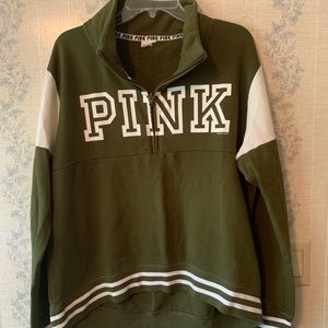 VS Pink Quarter Zip